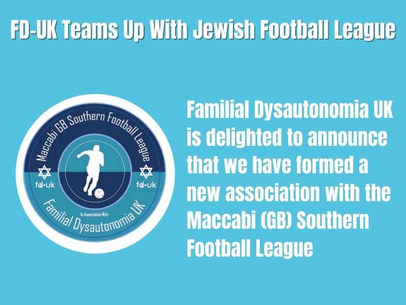 FD-UK TEAMS UP WITH JEWISH FOOTBALL LEAGUE
